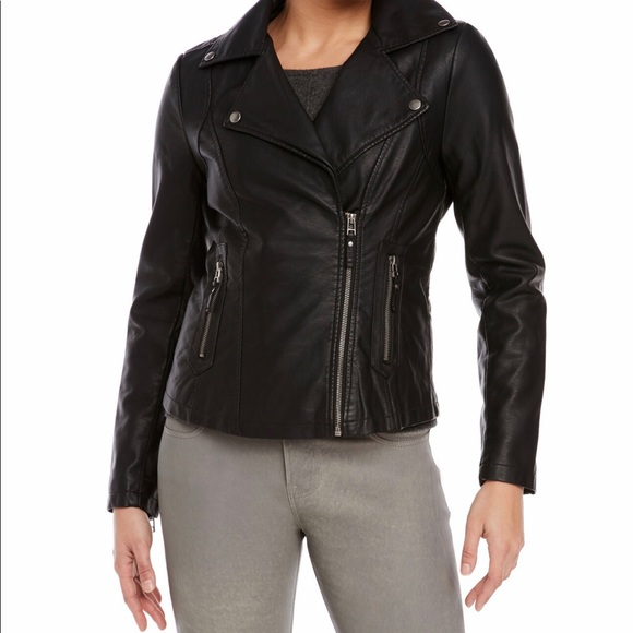 Max Studio Jackets & Blazers - 🌺MAX STUDIO Faux Leather Jacket